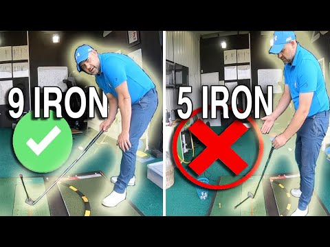 Why you hit your SHORT IRONS GREAT but your LONGER CLUBS S*@!T