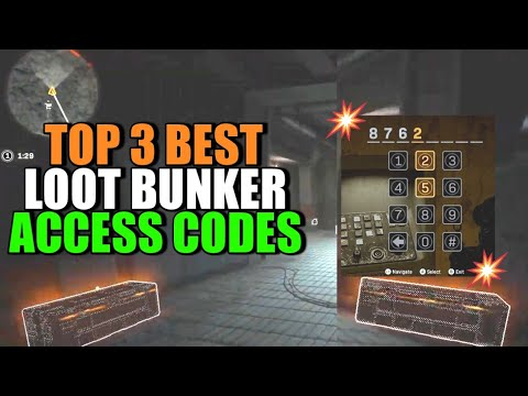 Warzone – How to unlock the BEST Loot Bunkers with Access Codes!! Tips n Tricks for Warzone Victory!