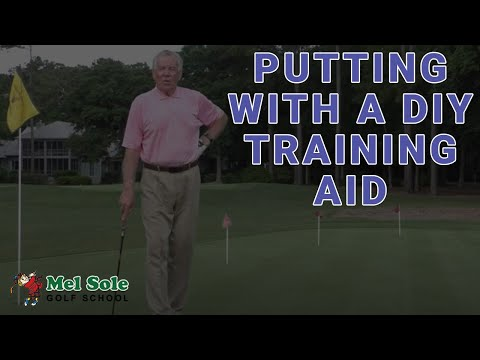 Mel Sole Golf Tips: Putting With A DIY Training Aid