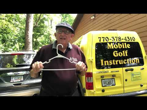 """Coat Hanger- """"Easiest Swing in Golf"""""""