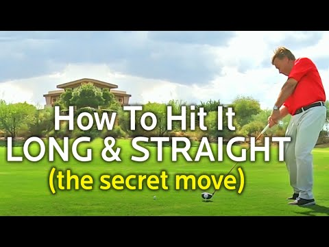 THE SECRET MOVE FOR LONG AND STRAIGHT GOLF SHOTS (Driver and Irons)