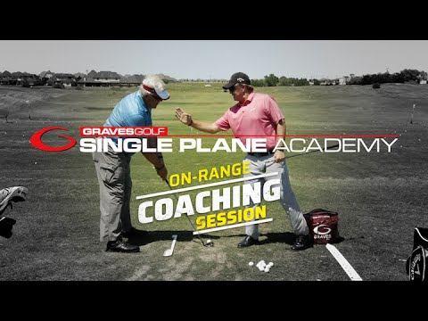 Single Plane On-Range Coaching Session & Success Story with Tim Graves, PGA