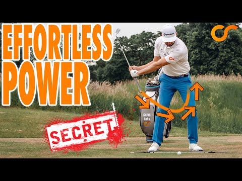 THE SECRET TO CREATING EFFORTLESS POWER IN YOUR GOLF SWING