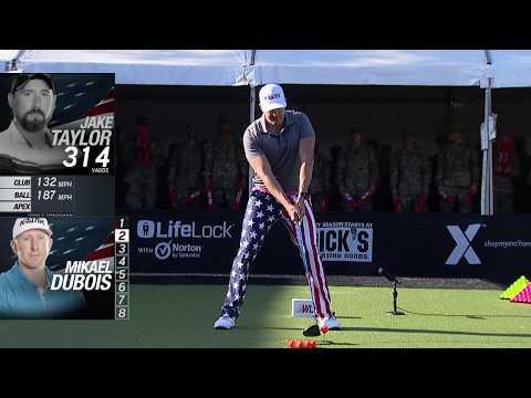 World Long Drive Top Shots 2019 Exchange Celebrating Service: Fort Jackson   Golf Channel