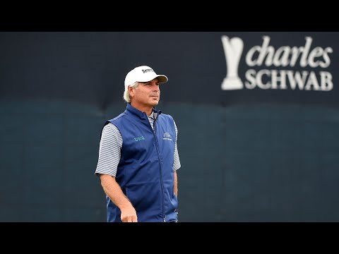 Fred Couples dunks one for sensational eagle