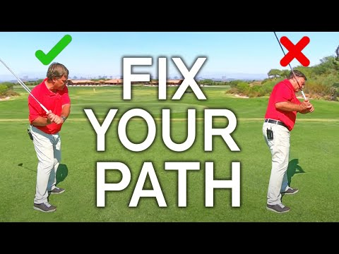FIX YOUR SWING PATH, SHALLOW YOUR PLANE and HIT LONG STRAIGHT SHOTS