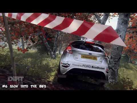 Dirt Rally 2.0 | Crash compilation | beginner driver