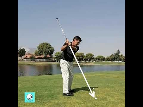 GOLF LESSONS – BACKSWING – THE PLANE