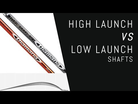 High Launch VS Low Launch Shafts – The Real Difference