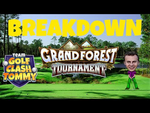 Golf Clash tips, Replay Breakdown PRO Division, B9! Grand Forest Tournament!