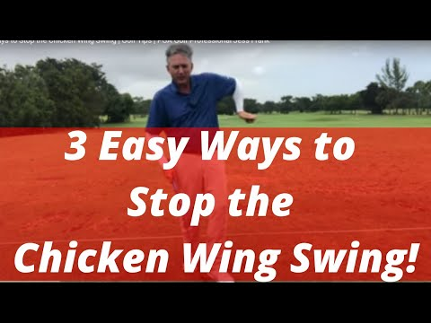 3 Easy Ways to Stop the Chicken Wing Swing   Golf Tips   PGA Golf Professional Jess Frank