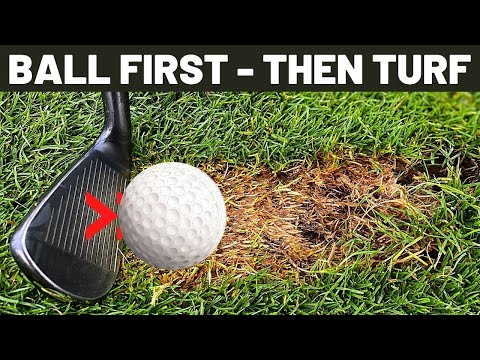 How to Hit the Ball Then the Turf with Your Irons For all AGE and ABILITY