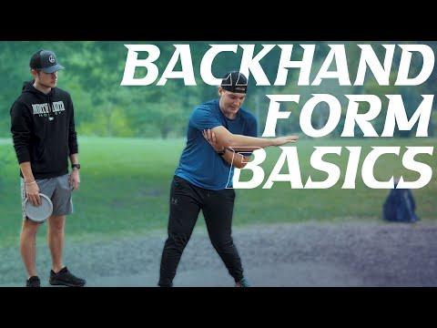 Backhand Form Basics – Beginner's Guide to Disc Golf