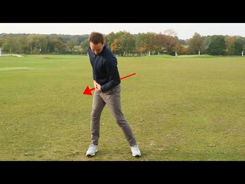 HOW TO CHANGE YOUR GOLF SWING – THE ONE HIP MOVE YOU NEED IN THE BACKSWING