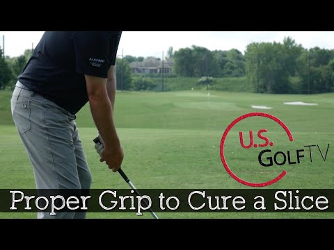 The Proper Golf Grip to Cure a Slice (How to Hold a Golf Club)
