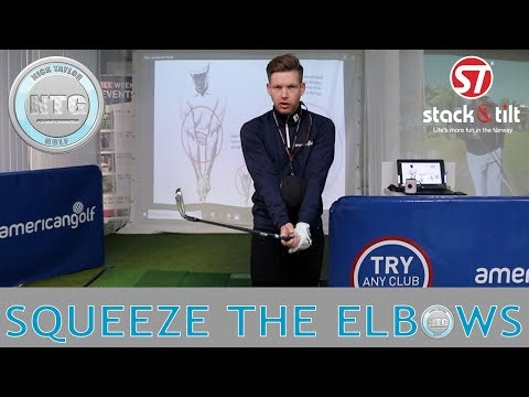 Squeeze the elbows | Golf Tips | Lesson 79