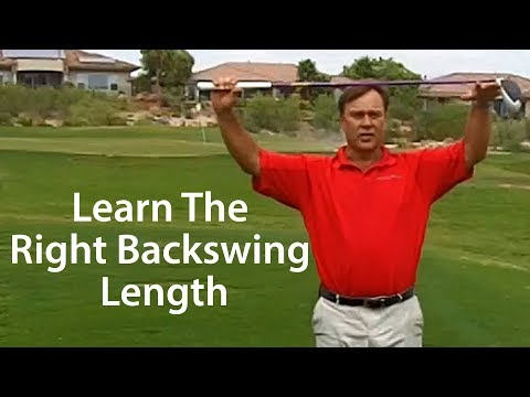 Golf Backswing – The Right Length of Swing with Driver