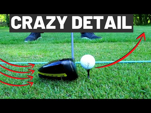 HOW TO HIT DRIVER STRAIGHT EVERY TIME – CLUB GOLFER CRAZY DETAIL