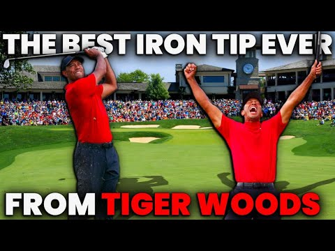 The BEST Iron Tip I learned from Tiger Woods – IMPORTANT no matter your age or ability