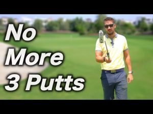 3 DRILLS TO PREVENT 3 PUTTS | Putting Golf Tips