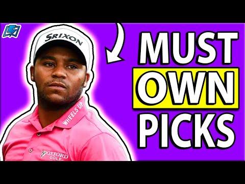 Bermuda Championship DraftKings DFS MUST OWN Picks   DFS Golf Picks