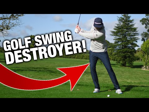 This Move Is DESTROYING Your Golf Swing!!   Featuring The BUTT WIPE DRILL   ME AND MY GOLF