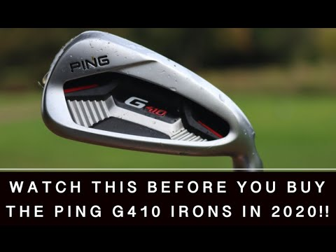 WATCH THIS BEFORE YOU BUY THE PING G410 IRONS IN 2020!