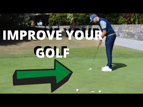 HOW TO IMPROVE YOU PUTTING WITHOUT CHANGING TECHNIQUE!!! GOLF IN 99 SECONDS!!