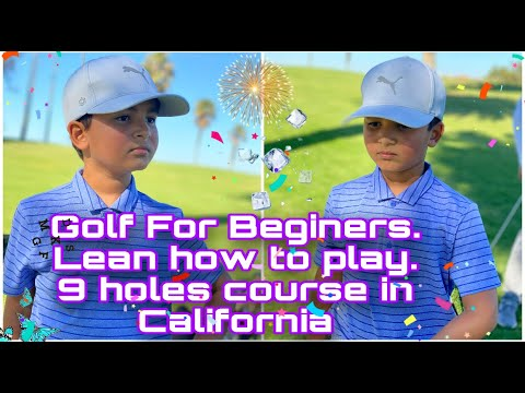 Play with me 9 Holes in California.  Golf fir Beginners. Lean with Me in California.