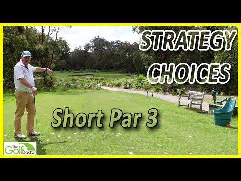 2 Ways To Play A Short Par 3 Hole