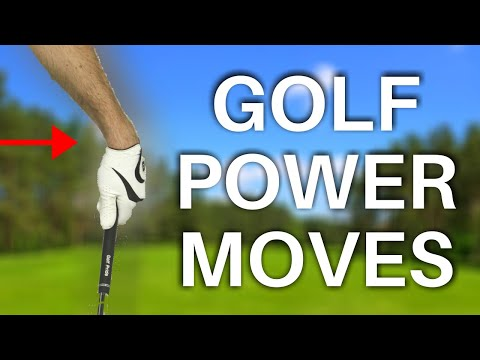 GOLF SWING POWER MOVES in slow motion