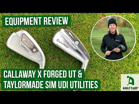 Battle of the driving irons: Callaway vs TaylorMade!   Golfalot Equipment Review