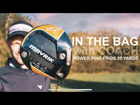 IN THE BAG with COACH LOCKEY hitting BOMBS with a NEW GOLF DRIVER