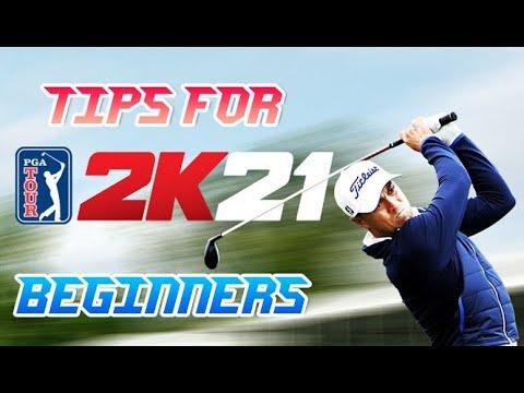 PGA 2K21 TIPS FOR BEGINNERS!