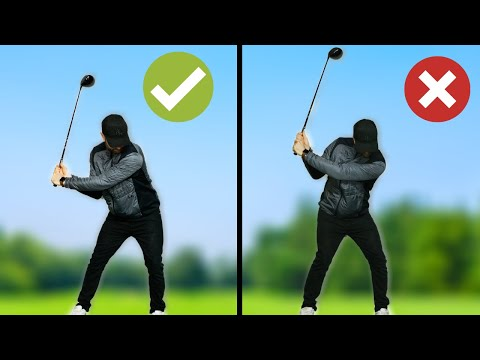 SWING CHANGES YOU NEED TO MAKE TO HIT DRIVER CORRECTLY