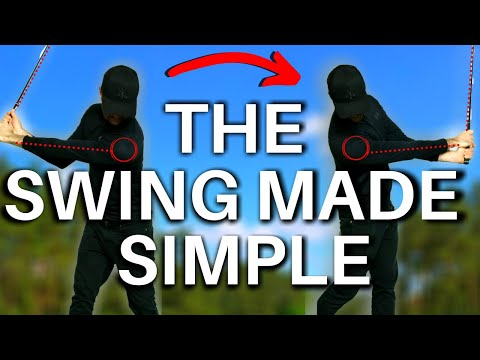 ONCE YOU'VE SEEN THIS the golf swing will seem so EASY