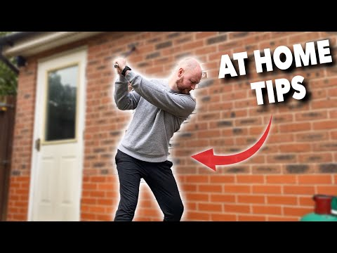 HOW TO GET A BETTER GOLF SWING WITH 3 HOME DRILLS – Simple Golf Tips