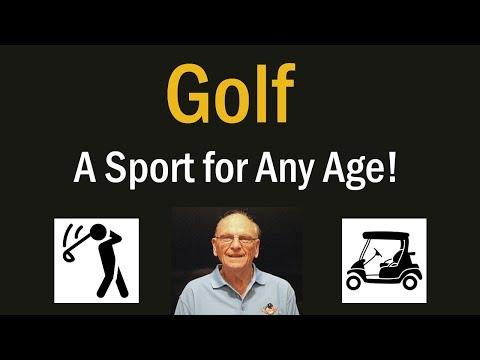 Is Golf a Good Sport for Seniors