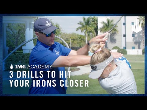 How to Become a Better Golfer   3 Golf Drills for Hitting Irons