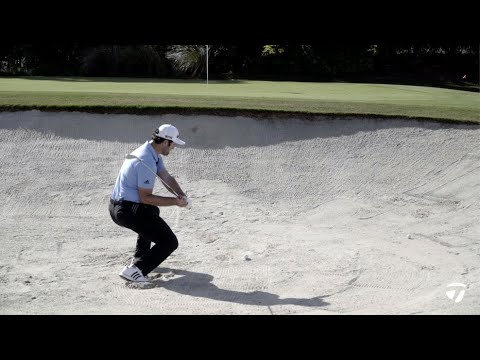How Jon Rahm Hits a 4-IRON Out of a Bunker | TaylorMade Golf