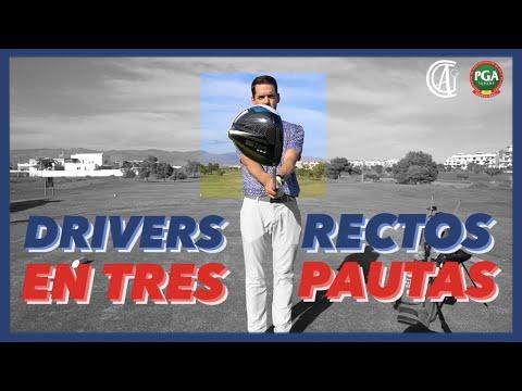DRIVER RECTO GOLF 🚀 3 CONSEJOS 🔝 para coger más calles