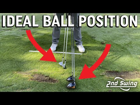 Golf Ball Position For Each Club   Where Should The Ball Be In Your Stance?