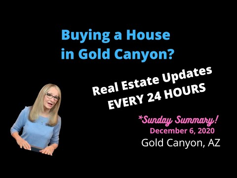 Buying a Home in Gold Canyon? Must Know Real Estate News Every 24 Hours