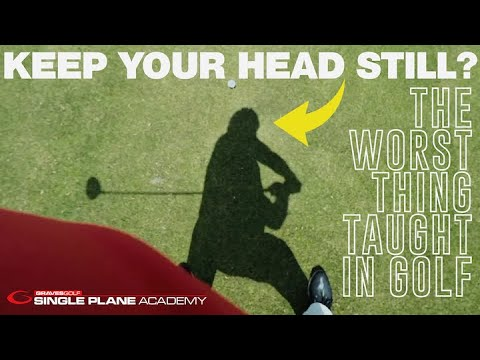 Proper Head Movement for Clubhead Speed & The Worst Thing Taught in Golf