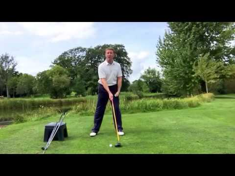 HOW TO GET THE CORRECT BALL POSITION , EASIEST SWING JULIAN MELLOR GOLF