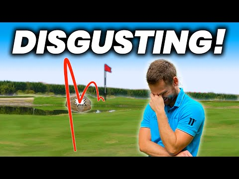 MIRACLE GOLF SHOT OR PURE DISGUSTING LUCK ?