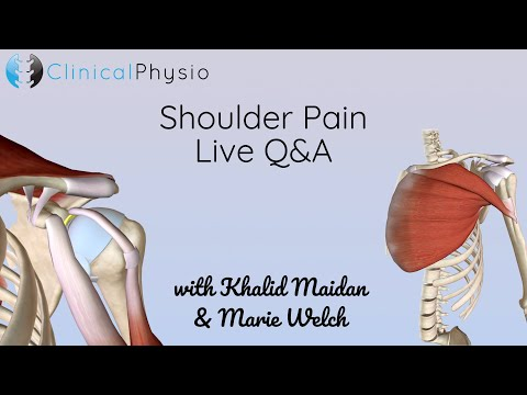 Shoulder Pain Live Q+A | Clinical Physio