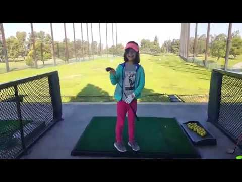 First Golf Lesson on the Driving Range.  FORE!!!!