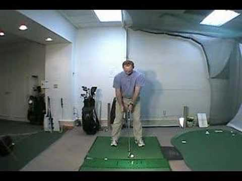 Golf Lesson – solid iron shots.