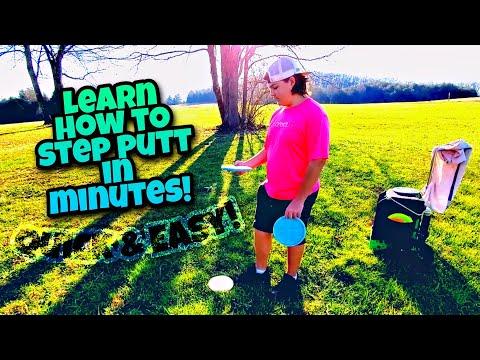 Step Putting 101 Part 2 – Alex Ferguson Disc Golf